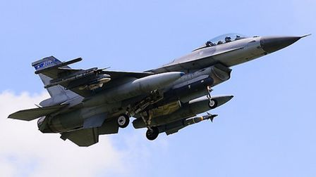 The student was flying a F-16 when he lost consciousness | Waylon Tsai, Flickr CC2.0