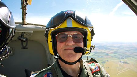 Derek Sharp flew for many years with the RAF before restoring his very own Bulldog