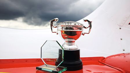 G-GGRR was voted 'Star of the Show' and awarded the AJ Jackson Concours d'elegance trophy