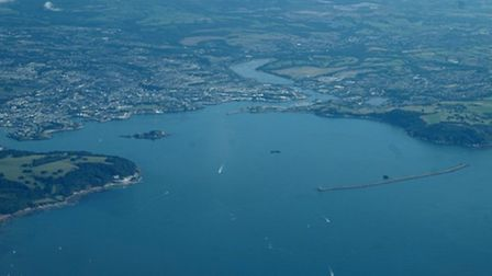Plymouth looking its best in the August sun