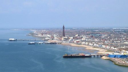 The famous seaside town of Blackpool, which was home to the OS Flying Unit for more than 50 years