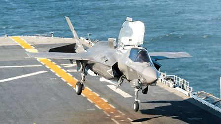 A Harrier may have taken the drama out of deck landings, but the F-35B makes them easy