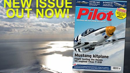 Get the November issue of Pilot now!