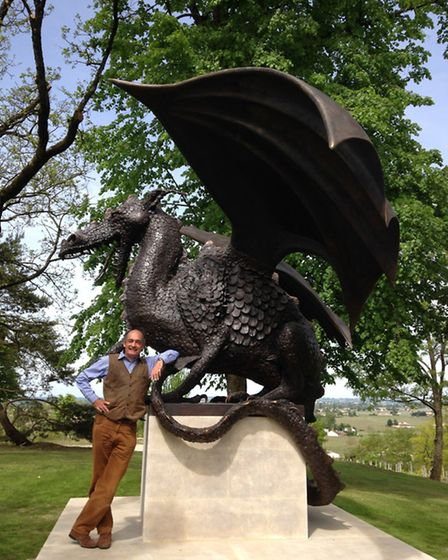 Quintus, the new guardian of the Prince of Luxembourg's Chateau Quintus outside St Emilion