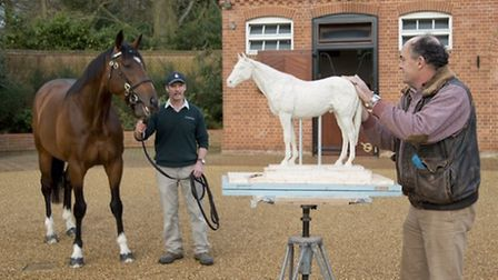 Working on the Frankel maquette