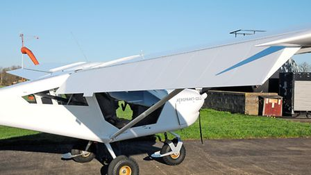 Broad chord 'flaperons' take up the entire trailing edge and work well as both ailerons and flaps