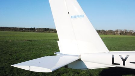 Despite the size of ther vertical tail surfaces, the directional stability is not brilliant