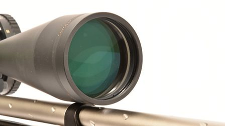 The front (objective) lens is measured in milimetres, in this case it's 60!