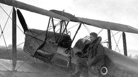 James did most of his early flying in Tiger Moths