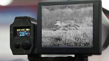 Once you have your quarry in your sights, it is shown on the LCD viewing screen