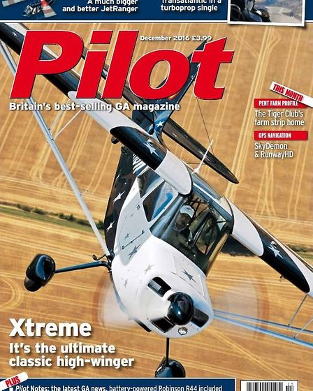 Capable of more than stalls and steep turns, the Xtreme Decathlon flight tested in the December edit