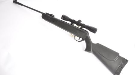 The SMK LB600 outfit includes a scope, mounts and tremendous value for money