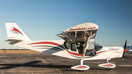 The Cruzer is a delight to handle on the ground and extremely easy to taxi