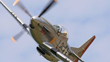 You can fly the P-51 Mustang!