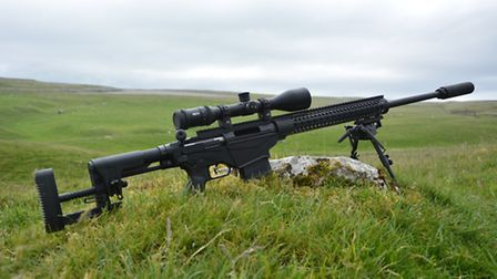 1.Ruger Precision Rifle in 243 Winchester
