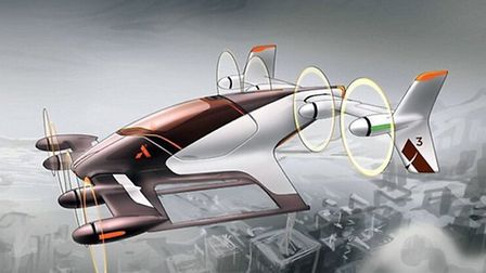 Could this 'autonomous electric taxi aircraft' be the future?