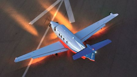 The PC-12NG is, quite literally, in a class of its own