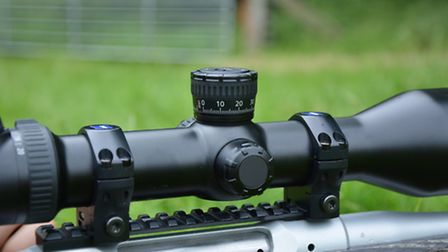 A picatinny rail like this Recknagel unit is the simplest mounting solution, especially if you need