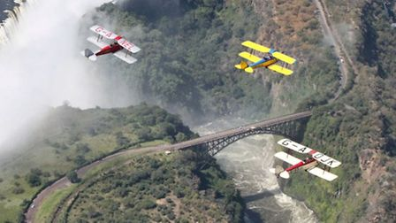 The rally aims to recreate the 1931 Imperial Airways 'Africa Route'
