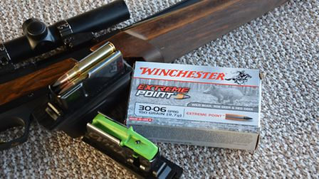 Winchesters Extreme point ammunition was a great fast fire round but perhaps a little too fast expan