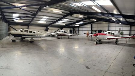 Hangarage available at Cumbernauld Airfield