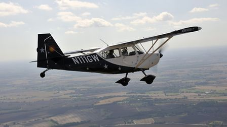 A good formation aircraft with lots of control authority, easy to position and with few blind spots