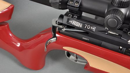 It's a fully-functioning, match-accurate rifle - but is it too posh to use?