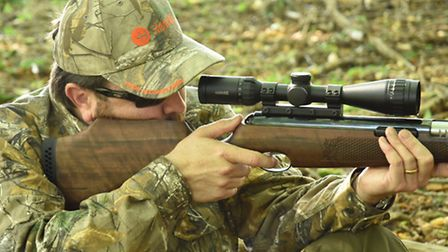 Note that the cheek piece is set at the right height for scope use. Thank you Air Arms