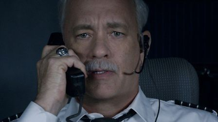 Tom Hanks plays Captain Chesley 'Sully' Sullenberger