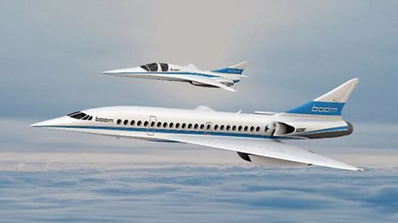 Boom hopes the XB-1 will lead to development of a 45-passenger airliner