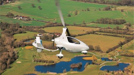 The Cavalon is as agile as the fixed-wing equivalent — just beware pitching down and unloading the r