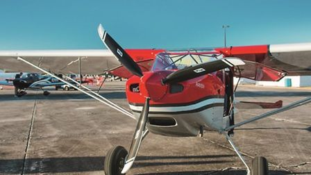 There are numerous engine/propeller options, up to 180hp