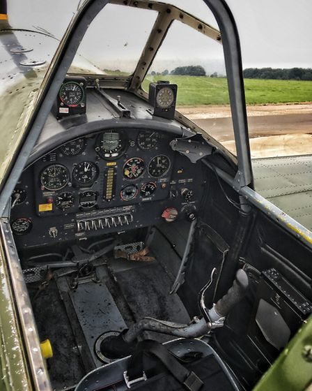 Brute strength needed in the cockpit