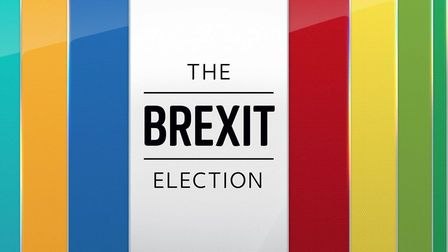 The Sky News branding for the general election. Photograph: Sky.