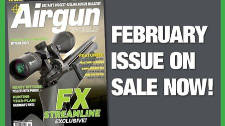 Get the February issue of Airgun World now!