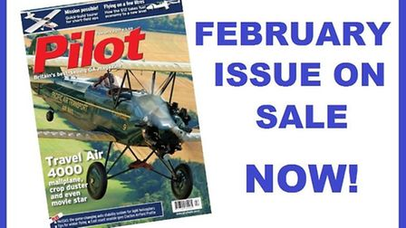 Get the February issue of Pilot now!