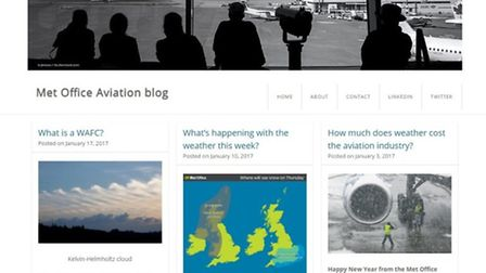 Check out the Met Office's new blog