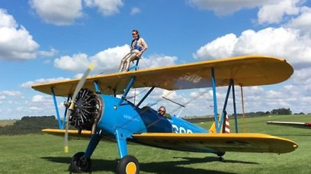 Who wants to give wing walking a try?