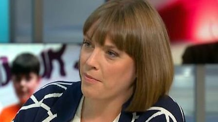 Labour candidate Jess Phillips on Good Morning Britain. Photograph: ITV.