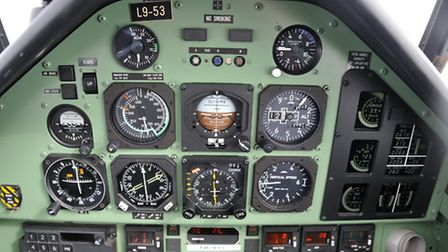 The PC-9 is kitted out for instrument flying but lacks the sophisticated navaids you'd now find in t