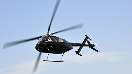 We were at 98% torque and 138 knots - this is a very fast helicopter