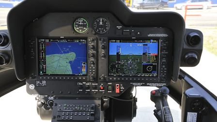 Resist the temptation to glance at the stand-by instruments - those G1000s are easy to use