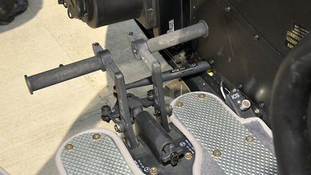 Torque pedals are hydraulically boosted, giving the 407 a different feel from the JetRanger