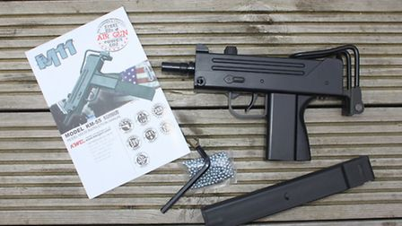 The KWC M11 and all the bits in the box