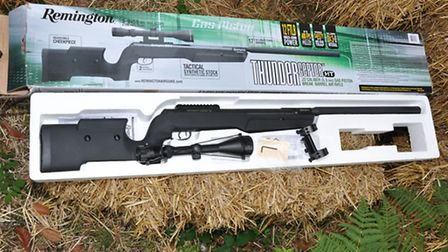 You get the rifle, 3-9 x 50 scope, one-piece mount and full instructions. It's a lot of gun for the