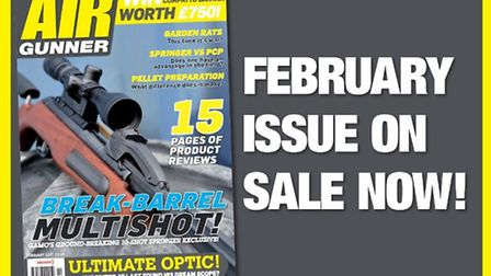 Get the February issue of Airgunner now!