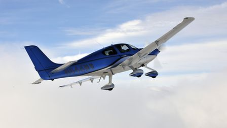 The SR22 has been designed to go places and the emphasis is clearly. and quite rightly, more on st