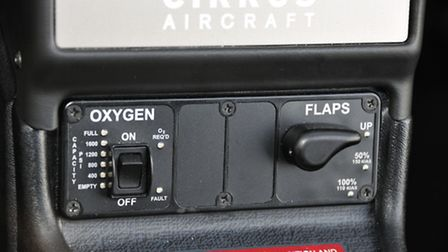 Oxygen and - yes - flap controls