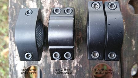 The most popular mount is the Sportsmatch single-strap double screw mount, and for good reason