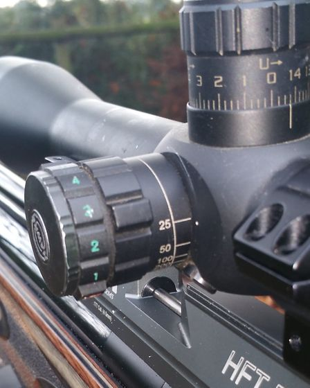 This Hawke Tac30 has a side parallax adjuster